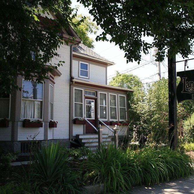 Landers House Front door